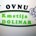 ANTON DOLINAR - NOSILEC DOPOLNILNE DEJAVNOSTI NA KMETIJI