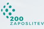 Projekt 200 novih zaposlitev